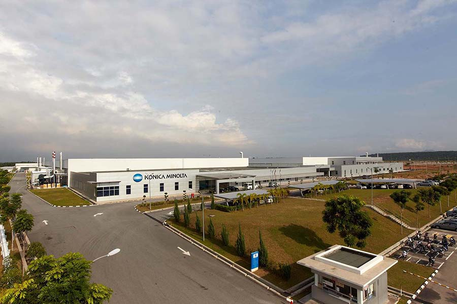 Konica Minolta Glass Tech Factory Extension (Phase3) (2010)